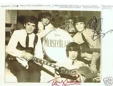 Merseybeats signed by 2 10 x 8 photo, COA, FREEPOST