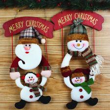 1 Pendentif Ornement Poupée de Noël Décoration de Sapins Maison Noël Au Choix