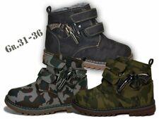 Jungen Winterschuhe Stiefel gefüttert Winterstiefel NEU Boots Tarn Knöchel @2267