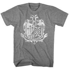 MONSTER HUNTER Capcom T-Shirt Weather World Emblem  Gray Heather Sizes  SM - 5XL
