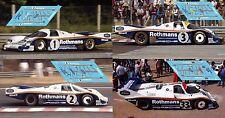 Calcas Porsche 956C Le Mans 1983 1 2 3 33 1:32 1:43 1:24 1:18 956 slot decals
