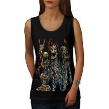 Skeleton Rock Band Women Tank Top NEW | Wellcoda