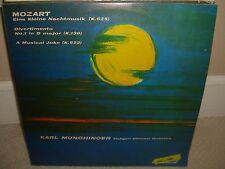 Mozart - Karl Munchinger - Eine Kleine Nachtmusik - Rare Colombia Press LP - L5