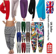 New Womens Ali Baba Harem Trousers Pants Leggings Ladies Baggy Aladdin 8-26