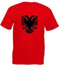 Albania T-Shirt Albania Shqipëria Hoodi Maglione Albania Kosovo Balcani Tirana Shi
