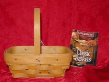 Parsley Booking basket & card, Longaberger