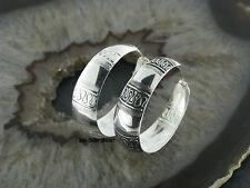 Silber 925 Creolen Ohrringe Ohrschmuck Creolen Keltische Schlange Celtic Snake
