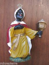 Statuina presepe vintage crib statue italy forse Isas '60 re Magio Magi incenso