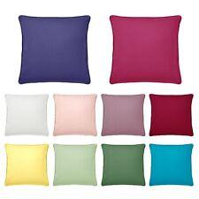 Lara Filled Piping Edge Cushion Cover 50 x 50 cm by Hoydu