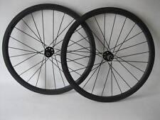 Carbono ciclocross Ruedas 38 mm Tubular Carbono Ruedas 700c Ruedas Freno De Disco