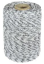 Weidezaunlitze 3mm geflochten 500m Weidedraht Kupfer Elektroazun Weidezaun Draht