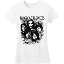Black Veil Brides  Black Ink Junior Top White