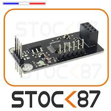 5241# Shield I2C ATMEGA48 pour module NRF24L01  wireless Interface