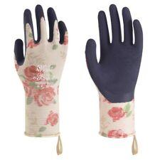 Towa Ladies Gardening Gloves Floral Rose Design Lightweight & Durable (TOW367)