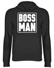 Boss Man Mens Womens Ladies Unisex Hoodie