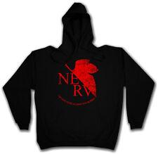 Nervo hoodie NEON Gendo cervello Genesis organizzazione anima Evangelion Ikari LOGO