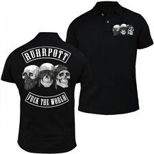 POLO Shirt Ruhrpott Fuck the World Ruhrgebiet pott revier schalke dortmund essen