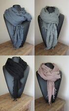 Cheche/etole/foulard hommes/Femmes aspect froissé 148 X 148 cm 4 couleurs