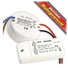 LED-Trafo 0.5-12W 12V Transformator - Flach / rund - Treiber Netzteil DC Driver