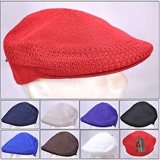 Mesh Ivy Newsboy Ventair Crochet Golf flat Ivy Hat Cap S, M, L, XL