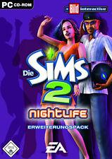 Die Sims 2: Nightlife (PC, 2013, DVD-Box)