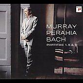 Murray Perahia - Bach: Partitas 1, 5 & 6 Digipak CD SEALED Grammy Pianist Winner