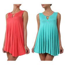 NE PEOPLE Women's Light Weight Sleeveless Short Loose Cami Swing Dress NEWT71