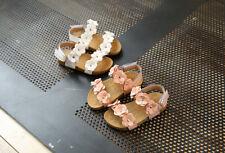 Infant Baby Girl Sandals Floral Sole Kids Children Princess Sandals Shoes Beach