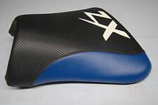 KAWASAKI  ZX9R 02/03  FRONT SEAT COVER Black/BLUE/WHITE