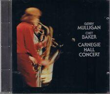 Mulligan/Baker Carnegie Hall C. master sound Gold CD sbm