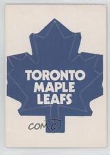 1972-73 O-Pee-Chee Logo Decals #TOR Toronto Maple Leafs Hockey Card