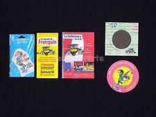LOT FRANQUIN GASTON Autocollant Carte Prospectus (309)