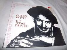 GOEBEL REEVES-THE TEXAS DRIFTER-GLENDALE GL 6010 NEW SEALED VINYL RECORD LP