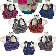 Bixtra Sport BH TV Push up Fitnes Bra Comfort Neon Farben Bustier TOP NEU