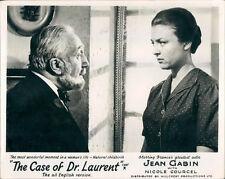 THE CASE OF DR. LAURENT NICOLE COURCEL ORIGINAL LOBBY CARD Jean-Paul Le Chanois
