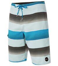 """O'Neill Santa Cruz Stripe 21"""" Swimwear Boardshorts Sz 32"""