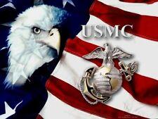 US Marines Patriotic Edible Icing Image