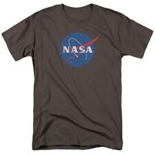 Nasa Meatball Logo Distressed T-shirts for Men Women or Kids