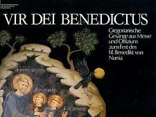 """VIR DEI BENEDICTUS - JOPPICH GREGORIANISCHE GESÄNGE       12"""" LP   (6047)"""