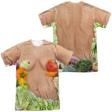 Vegan Heroine Allover Front Back Costume Halloween Outfit Uniform T-shirt top