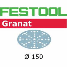 50x Festool mj2 Discos de lijado Granat STF Ø150 / 48 ,p40-80,p800-1500