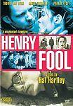 HENRY FOOL (DVD, 2003) Parker PoseyThomas Jay Ryan Hal Hartley NEW & SEALED