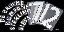 Manchester City 2013/14/15 Camiseta De Fútbol Nombre/Número Set Sporting Id PS pro un
