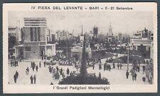 BARI CITTÀ 16 MIGNON  IV FIERA DEL LEVANTE