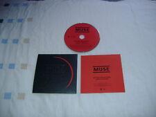 MUSE NEUTRON STAR COLLISION STICKERED PROMO CD MINT CONDITION!