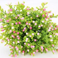 Artificial Plastic Imitation Green Milan Plants Flower Home Garden Floral Decor