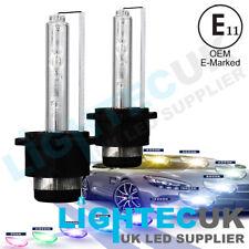2x PREMIUM OEM D2S HID XENON HEADLIGHT REPLACEMENT LAMP BULBS 35W D2R E MARKED