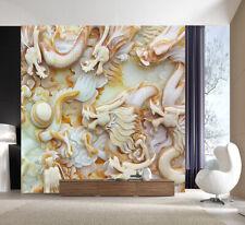 3D Dragon Ball Marble Pattern 7 Wall Paper Wall Print Decal Wall AJ WALLPAPER CA