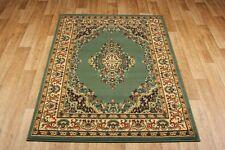Light Green Traditional Persian Oriental Design Budget Rugs & Hall Runner S-XXL