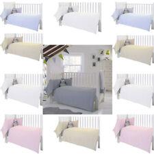 Clair de Lune Waffle 2 Piece Cot/Cot Bed Quilt & Bumper Bedding Set